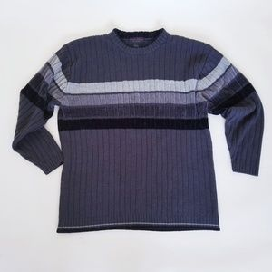 Men's Grey Sweater Crewneck Size L by Lada Jeans